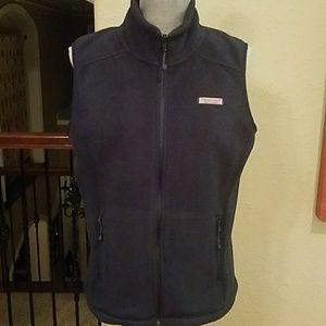 Vineyard Vine's Woman's Fleece Shirt Vest